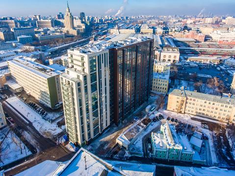 "4-х комн. апартаменты,150,6 кв.м, 17этаж в ЖК ""Басманный,5"""