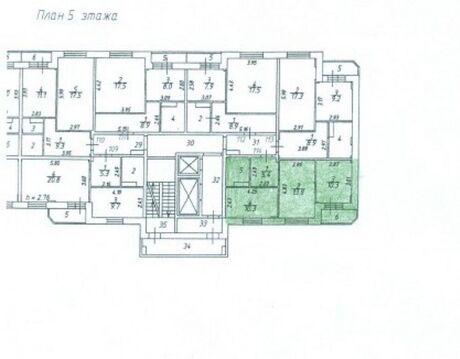 """2-комнатная квартира, 47 кв.м., в ЖК """"Зеленый город"""""""