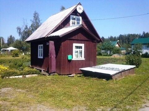Небольшой домик с ухоженным участком 50 км от Москвы