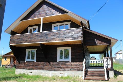 Каринское. Отличный дом на берегу озера. Все коммуникации. 90 км от мк