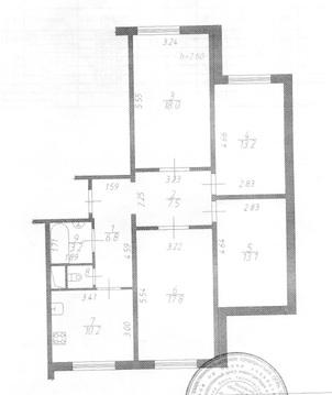 Подольск, 4-х комнатная квартира, ул. Академика Доллежаля д.30, 5150000 руб.