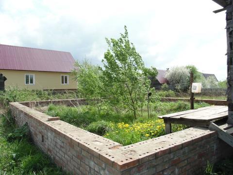 Садовый участок с фундаментом в Павловском Посаде, 450000 руб.