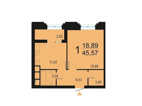 Москва, 1-но комнатная квартира, ул. Берзарина д.28, 8673794 руб.