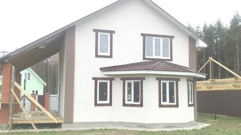 Новый жилой дом 104,5 кв.м. на участке 10 соток в ДНП близ д. Переслав