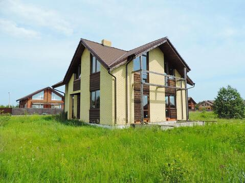 Новый кирпичный дом