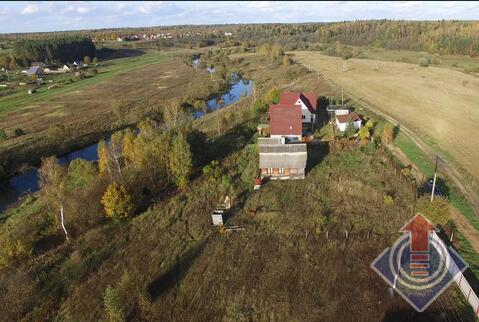 Дом из бревна 80 м2 на участке 15 соток в д. Вышегород