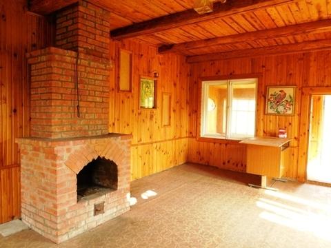 Уютный дом с камином, рядом с озером 50 км от Москвы