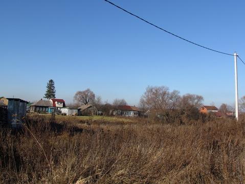 Продается земельный участок в деревне Большое Карасево Коломенского ра