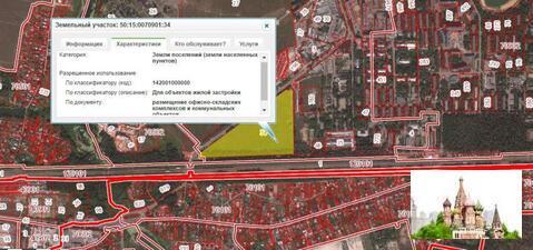Земельный участок 9,46 га, д. Черное, г. Железнодорожный 14 км от МКАД