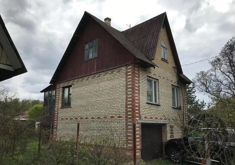 Кирпичный 3 эт. дом в СНТ Лесная быль на участке 5+5 сот.