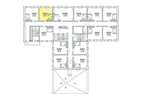 Москва, 1-но комнатная квартира, ул. Радиальная 6-я д.7, к 35, 2783714 руб.