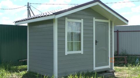 Продается небольшой уютный домик 9 кв.м. на земельном участке 12 соток