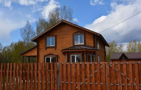 Новый брусовой утеплённый дом в 35 км от Сергиев-Посада