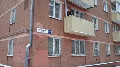 2-х комнатная квартира 41 кв.м. 1эт/ 5 эт. Мытищи ул. Щербакова д.15