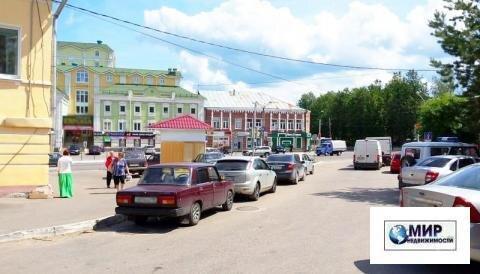 """Здание магазина """"Овощи"""" в центре Волоколамска. Участок 155 кв.м."""