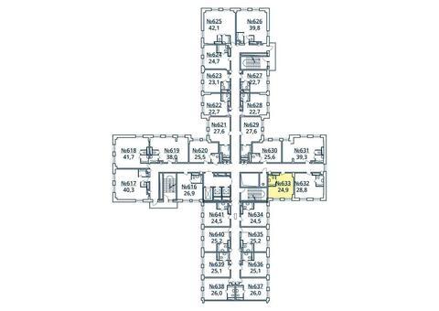 Москва, 1-но комнатная квартира, ул. Радиальная 6-я д.7, к 35, 2745747 руб.
