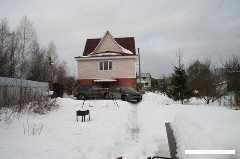 """Дом """"под ключ"""" в 10 км от Истры, Новорижском шоссе, 5300000 руб."""