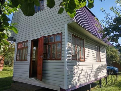 Дом из бруса на участке 6 соток, СНТ Весна 6, центр Климовска, 1680000 руб.