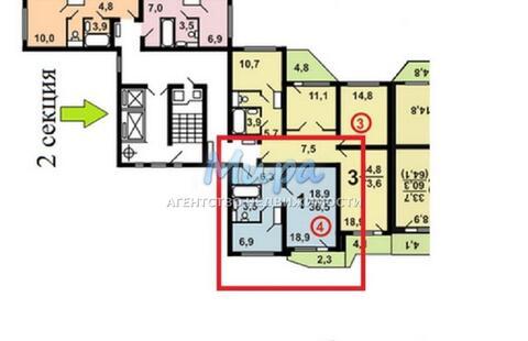 Москва, 1-но комнатная квартира, ул. Ухтомского Ополчения д.1, 5100000 руб.