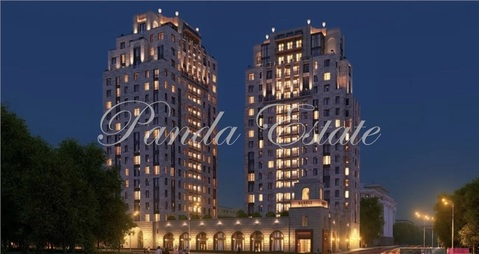 3-комнатная квартира, 100 кв.м., в ЖК Barkli Residence (Баркли Резиденс)