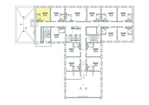 Москва, 1-но комнатная квартира, ул. Радиальная 6-я д.7, к 35, 2842893 руб.