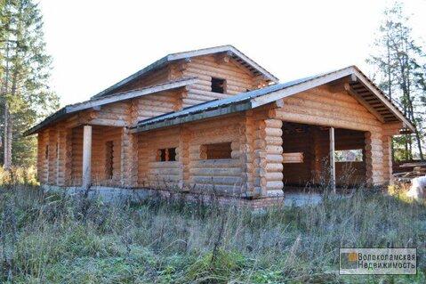 Жилой дом на лесном участке в Волоколамском районе