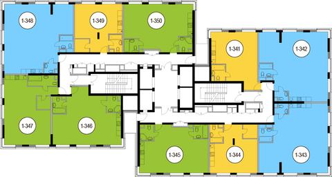 Москва, 2-х комнатная квартира, Головинское ш. д.10, 13552000 руб.