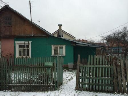 Доля дома в центре г. Домодедово.