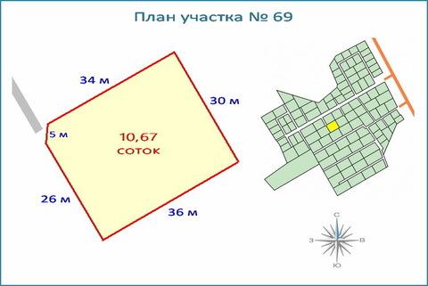 Участок 10,6 соток в кп, ипотека, рассрочка, 10 км от ЗЕЛАО г. Москвы