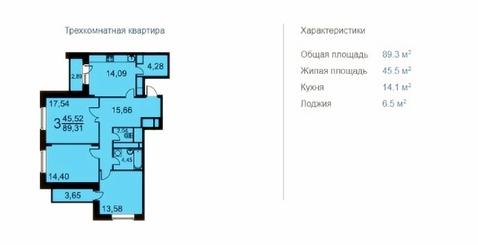 3к квартира ЖК Жемчужина Виктории 9 км Энтузиастов шоссе