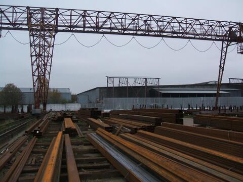 Сдается ! Открытая площадка 3000 кв. м Кран 10 т, бетон., 360000 руб.