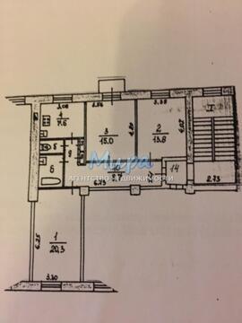 Продаем 3-х комнатную квартиру в г. Лыткарино, ул.Первомайская, д.4,