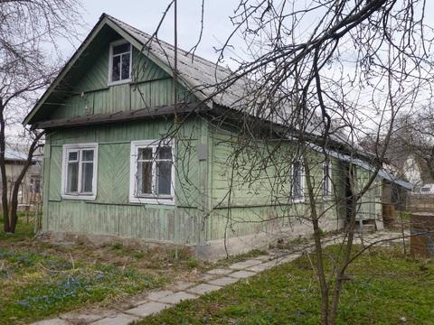Продается земельный участок с домом в г. Пушкино