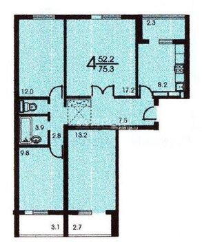 Продажа 3 комнатной квартиры м.Красногвардейская (Ореховый бульвар)