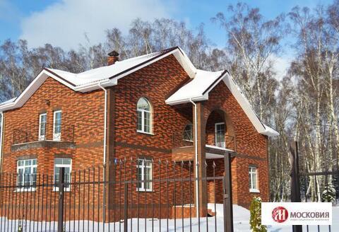 Коттедж 280м2, на лесном участке 15 соток. Москва, 30 км от МКАД.