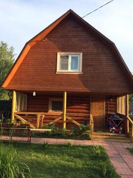 Дом из бревна на садовом участке, Павловский Посад.