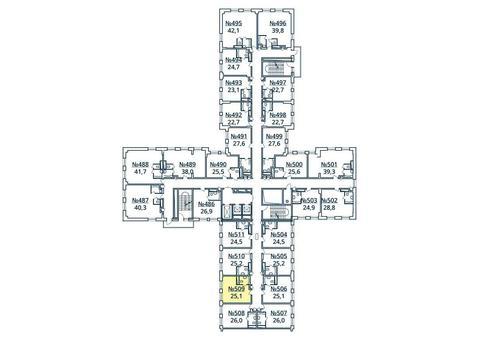 Москва, 1-но комнатная квартира, ул. Радиальная 6-я д.7, к 35, 2852605 руб.