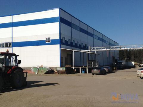 Предлагается в аренду складской блок класса В, высота 12 м.