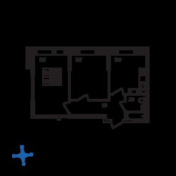 Люберцы, 2-х комнатная квартира, ул. Барыкина д., 4331866 руб.