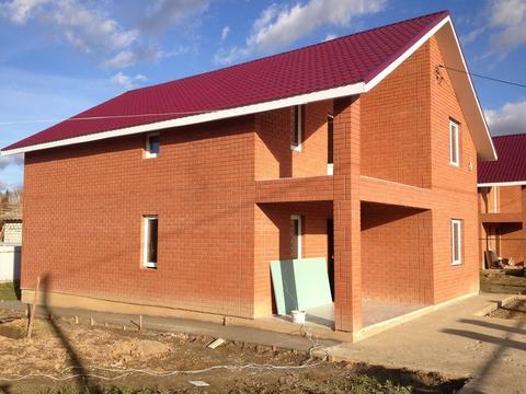 Загородный коттедж 160 кв.м. на участке 10 соток в д. Рахманово