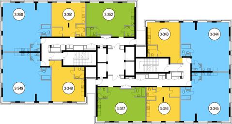 Москва, 2-х комнатная квартира, Головинское ш. д.10, 12761250 руб.