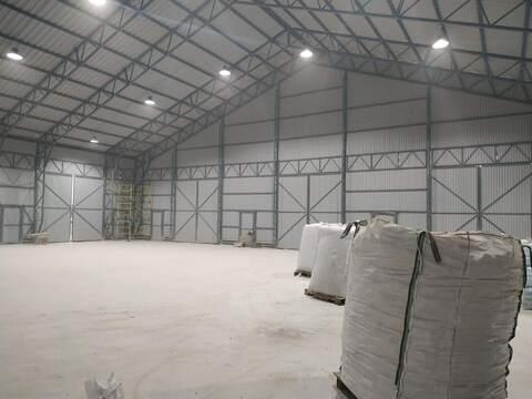 Новый склад 450 кв.м,5 ворот