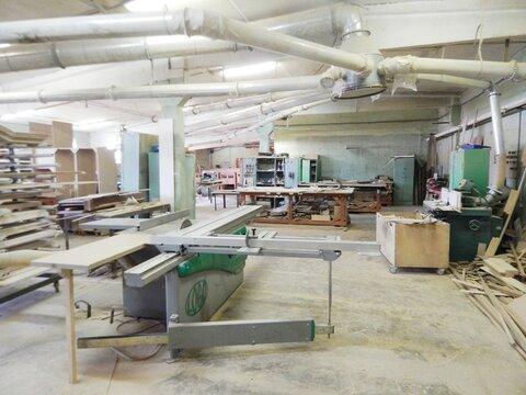Производственное помещение под столярное производство