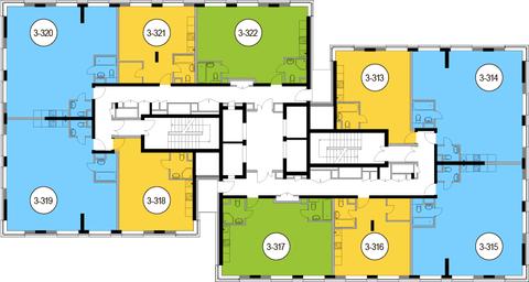 Москва, 2-х комнатная квартира, Головинское ш. д.10, 12084750 руб.