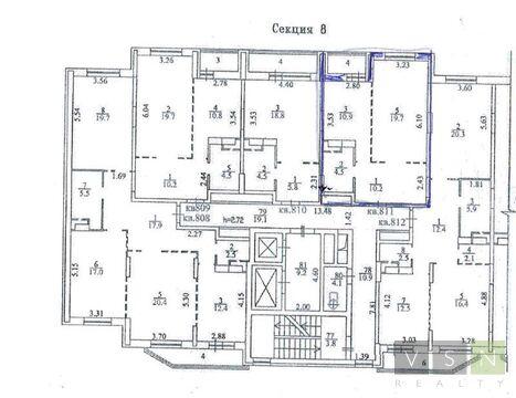 """1-комнатная квартира, 46 кв.м., в ЖК """"Новокосино"""""""