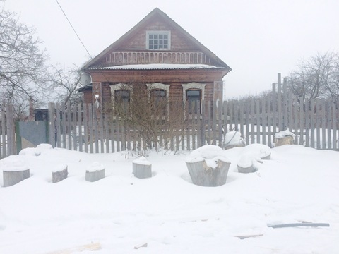 Продам дом 50 кв.м. 12 сот ПМЖ деревня Жуково