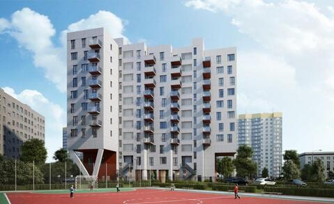 "1-комнатная квартира, 38 кв.м., в ЖК ""Дом в Кусково"""