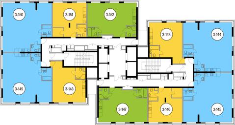 Москва, 2-х комнатная квартира, Головинское ш. д.10, 10903200 руб.