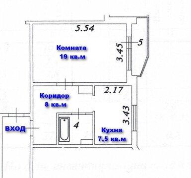 Однушка в новом доме П-44т на Твардовского в Балашихе, рядом лес