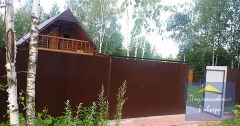 Хороший бревенчатый дом 85 м2 на крайнем участке 10 сот.